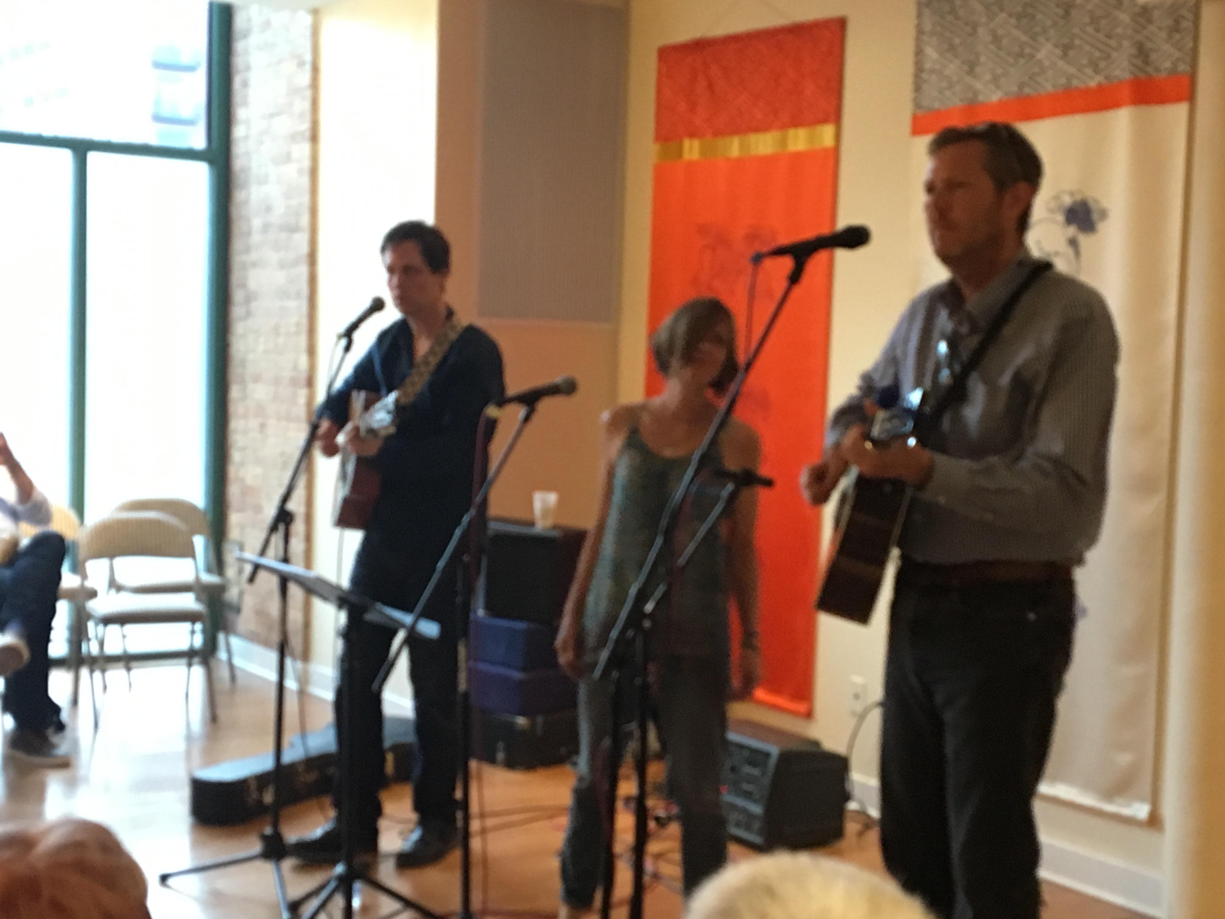 folk concert at shambhala chicago center