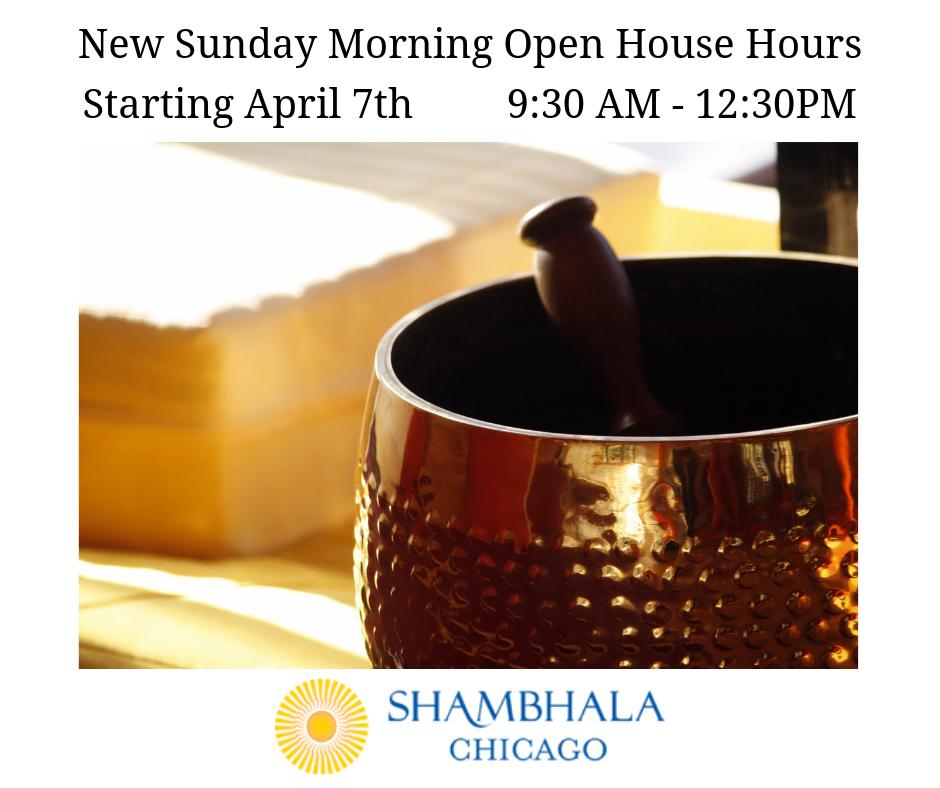 Sunday Morning Open House